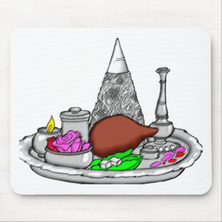 Seder Plate Mouse Pad