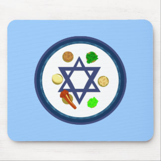 Seder Plate Mouse Pads