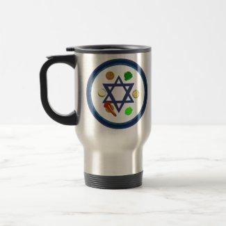 Seder Plate mug