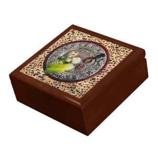 Seder Plate On Matzah Gift Box