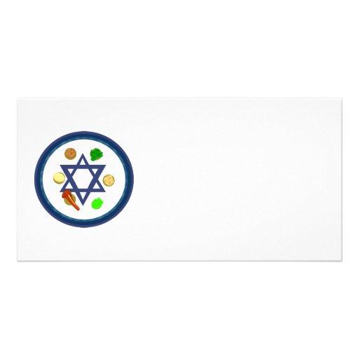 Seder Plate Photo Card