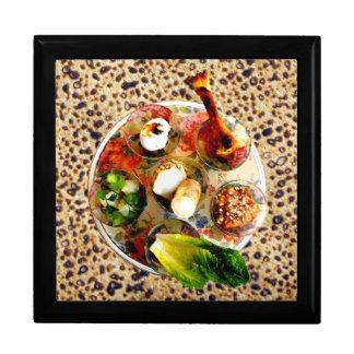 Seder Plate & Shemura Matzah Keepsake Box