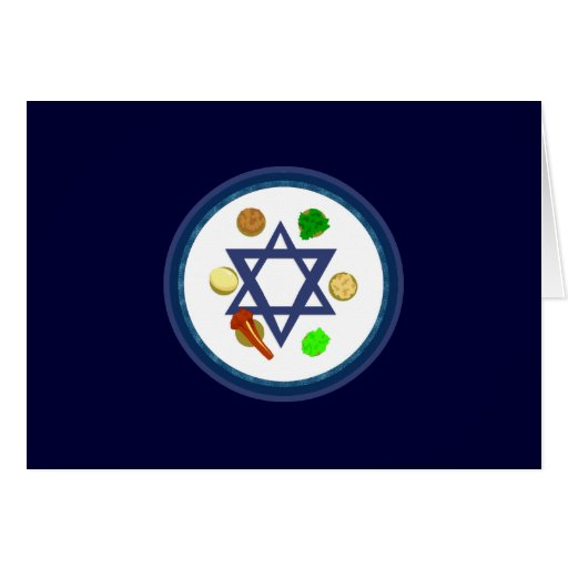 Seder Plate Stationery Note Card