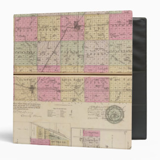Sedgwick County, Conway and Belle Plaine, Kansas 3 Ring Binder