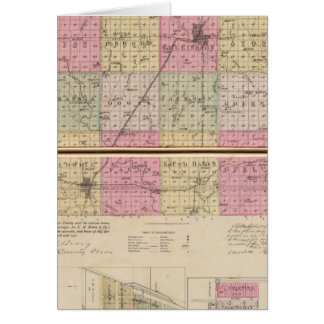 Sedgwick County, Conway and Belle Plaine, Kansas Card