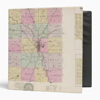 Sedgwick County, Mount Hope, and Derby, Kansas 3 Ring Binder