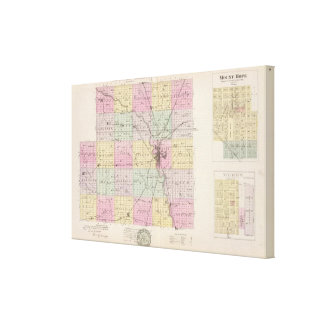 Sedgwick County, Mount Hope, and Derby, Kansas Canvas Print