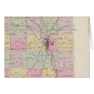 Sedgwick County, Mount Hope, and Derby, Kansas Card