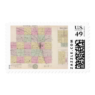 Sedgwick County, Mount Hope, and Derby, Kansas Postage