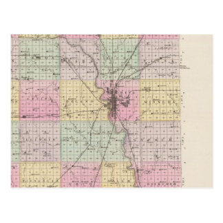 Sedgwick County, Mount Hope, and Derby, Kansas Postcard