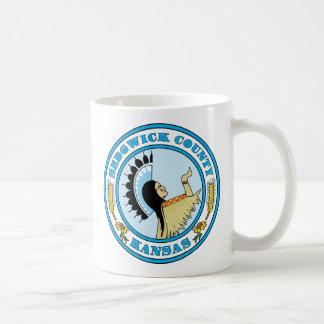 Sedgwick County seal Coffee Mug