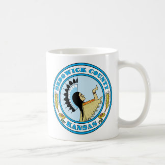Sedgwick County seal Mug