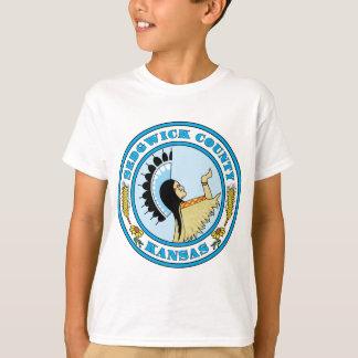 Sedgwick County seal T-Shirt