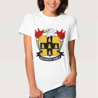 Sedgwick Family Crest T Shirt