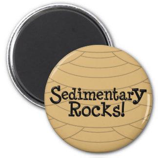 Sedimentary Rocks! Magnet
