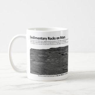 Sedimentary Rocks on Mars II - Cross Bedding Coffee Mug