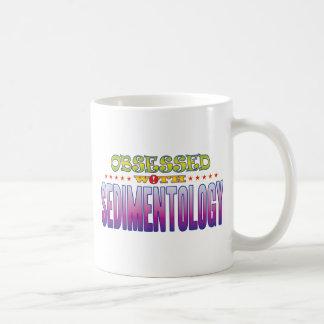 Sedimentología 2 obsesionada taza básica blanca