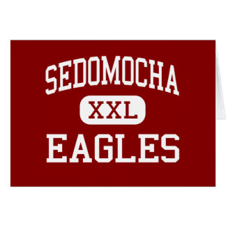 Sedomocha - Eagles - Middle - Dover Foxcroft Maine Greeting Card