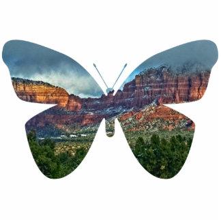 Sedona Arizona, butterfly sculpture Standing Photo Sculpture