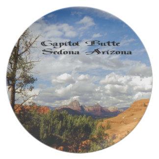 Sedona Arizona Dinner Plate
