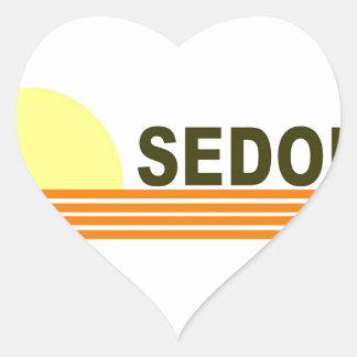 Sedona, Arizona Heart Sticker