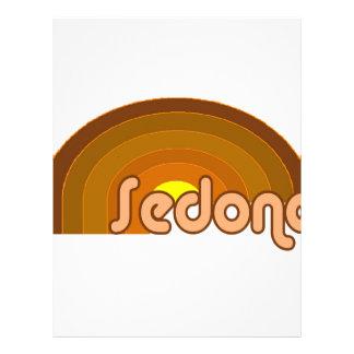 Sedona, Arizona Plantilla De Membrete