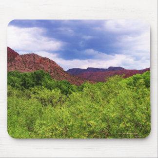 Sedona Arizona Red - Southwest Outdoors Mouse Pad