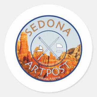 Sedona Artpost Classic Round Sticker