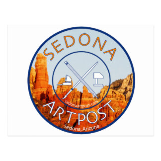 Sedona Artpost Postcard
