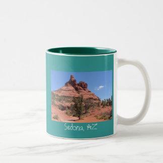 Sedona, AZ Two-Tone Coffee Mug
