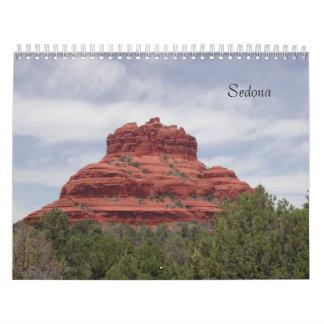 Sedona Calendario De Pared