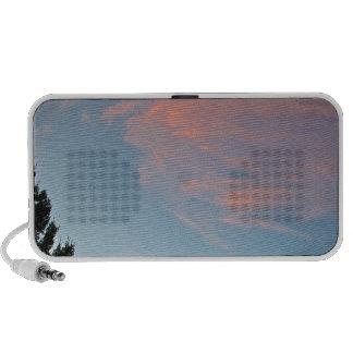 Sedona cloudy skies iPod speaker
