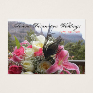 Sedona Destination Weddings Wedding Planner Card