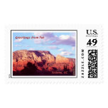 Sedona 'Greetings from Pat' Stamps