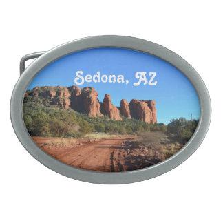 Sedona Hiking Oval Belt Buckles