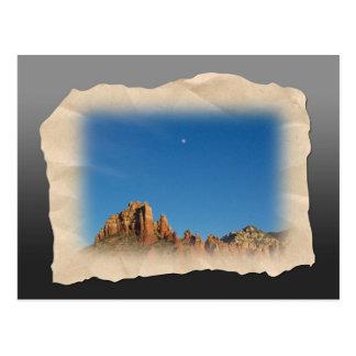 Sedona Moon Postcard
