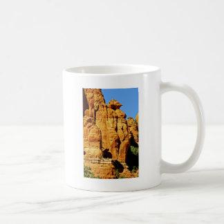 Sedona Mountain landscape alien statue Coffee Mug