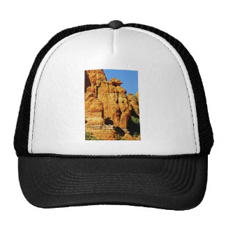 Sedona Mountain landscape alien statue Hats