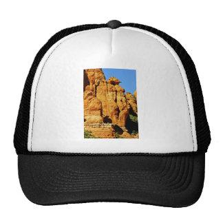 Sedona Mountain landscape alien statue Trucker Hat