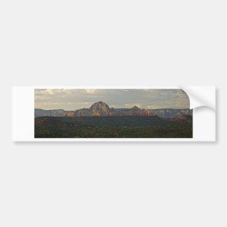 Sedona Mountain landscape Bumper Sticker
