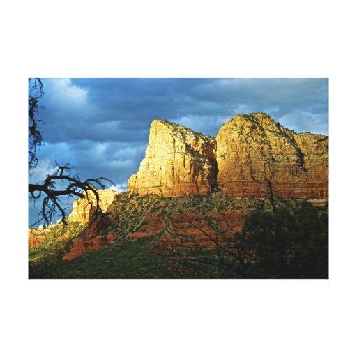 Sedona Mountain landscape Canvas Print