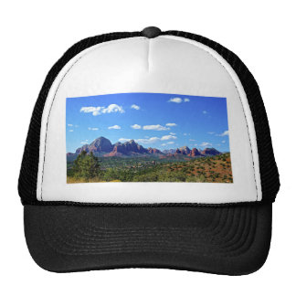 Sedona Mountain landscape City of Sedonna Hat