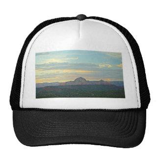 Sedona Mountain landscape Mesh Hat