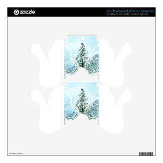 Sedona Mountain landscape Snow covered trees PS3 Controller Skins