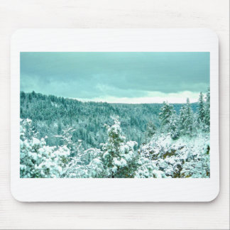 Sedona Mountain landscape winter Mouse Pad
