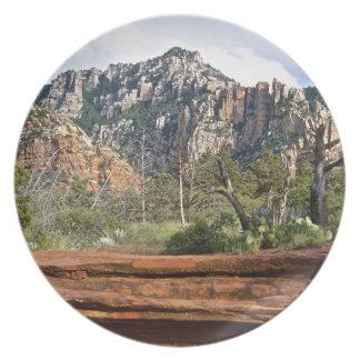 Sedona Mountain trails Dinner Plates