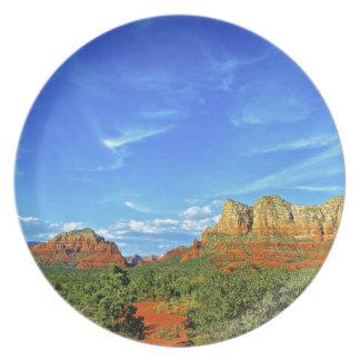 Sedona Mountain trails Plates