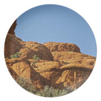 Sedona Mountain trails Party Plates