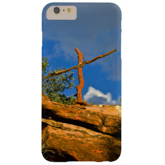 Sedona Mountain trails Remembrance Cross Barely There iPhone 6 Plus Case