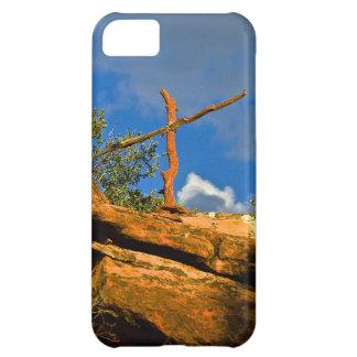 Sedona Mountain trails Remembrance Cross iPhone 5C Case
